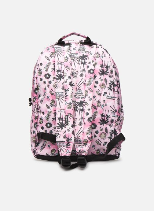 School bags Rip Curl DOUBLE DOME ANAK Pink front view